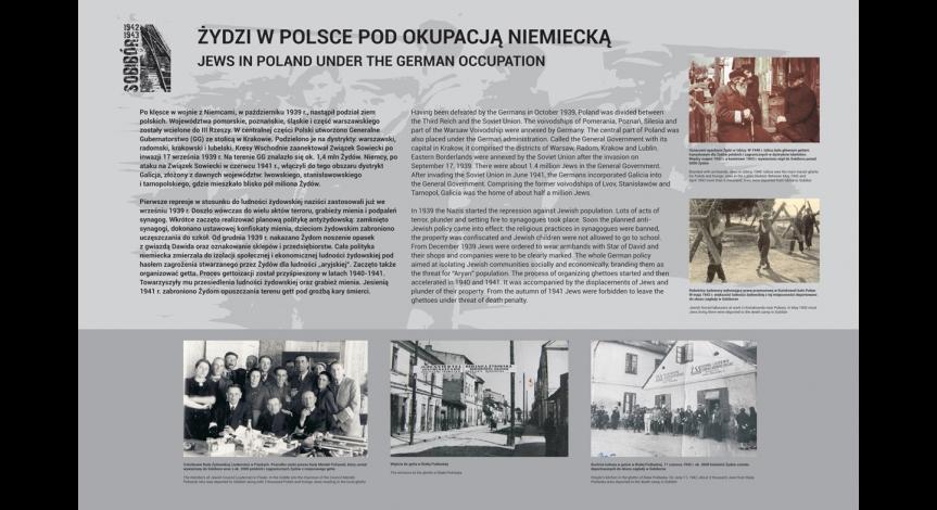 """Powiększ obraz: Wystawa """"Obóz zagłady w Sobiborze"""""""