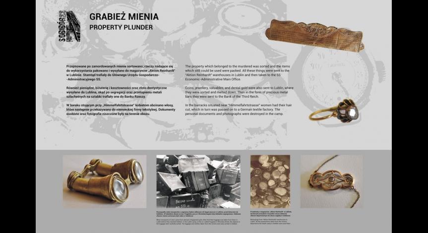 """Powiększ obraz: Wystawa """"Sobibór 1942-1943"""""""