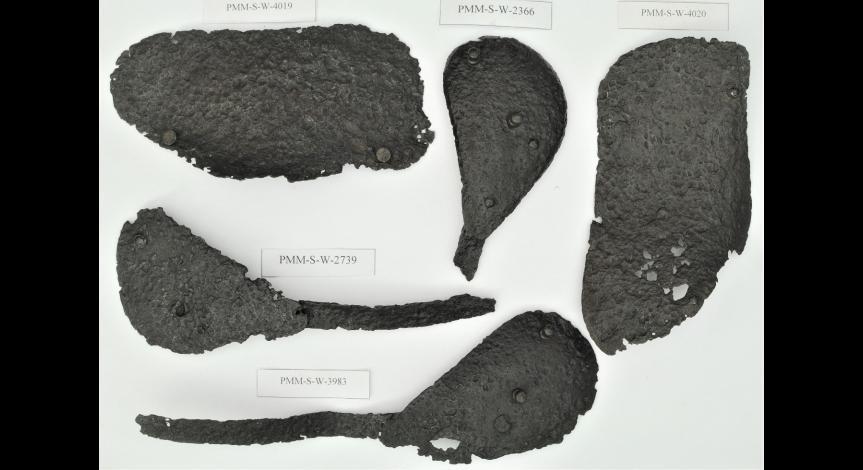 Powiększ obraz: Kolejne konserwacje obiektów z Sobiboru