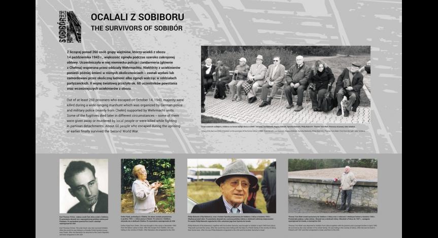 """Wystawa """"Sobibór 1942-1943"""""""
