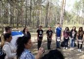 Pokaż powiększenie powyżej: Wizyta młodzieży izraelskiej w Sobiborze