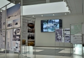 Show larger image above: Post-competition exhibition – projects of the new museum in Sobibór