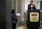Pokaż powiększenie powyżej: Ogłoszenie wyników konkursu na aranżację plastyczną wystawy w Sobiborze