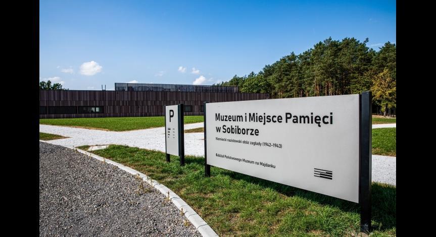 Museum and Memorial in Sobibór - photos