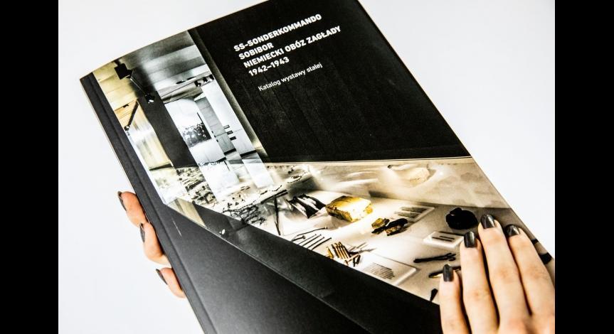 """Katalog wystawy stałej """"SS-Sonderkommando Sobibor"""""""
