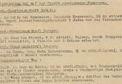 Pokaż powiększenie powyżej: 5A. Fragment meldunku Komendantury Policji Porządkowej w dystrykcie lubelskim z 25.10.1943 r. do Dowódcy Policji Porządkowej w Krakowie
