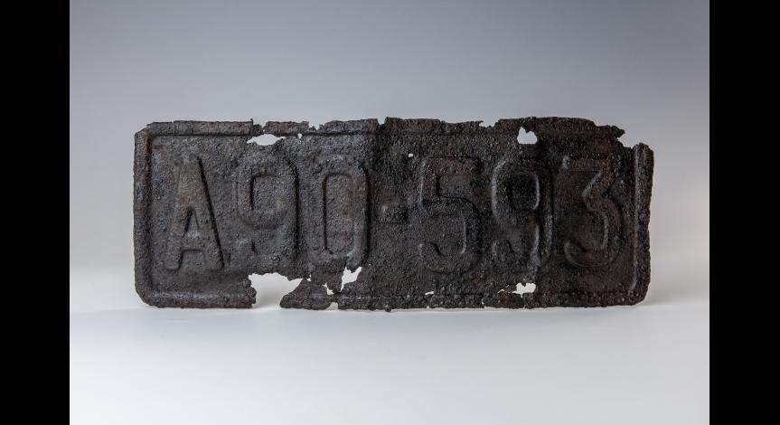 Powiększ obraz: Konserwacja reliktów sobiborskich, lipiec 2018