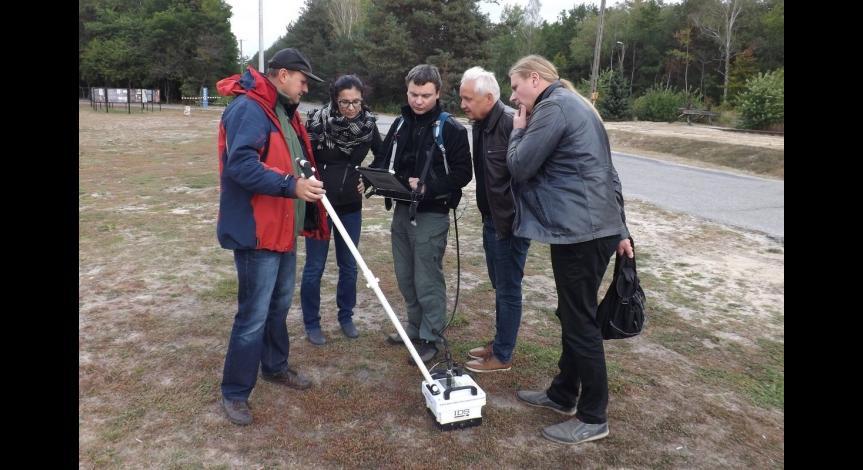 Zespół badawczy w Sobiborze